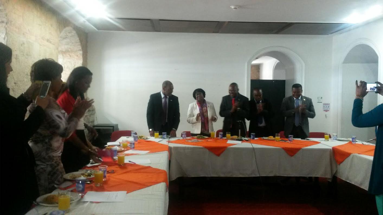 Guillermina Bravo Montaño Presidente de la Bancada de Congresistas Afro