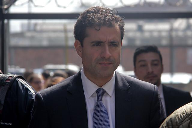 Francisco Uribe Noguera, hermano del acusado, investigado junto a su hermana Catalina por adulterar la escena del homicidio de la menor. Foto: lafm.com