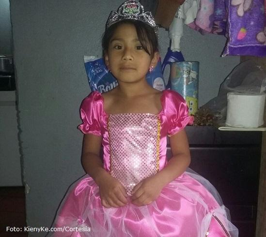 Yuliana Andrea Samboní, simbolo del martirio que a diario sufren los niños en Colombia. #NiUnaMas