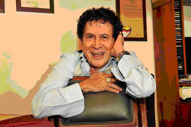 En su estudio de Medellín, donde botó corriente de la buena hasta el final de sus días. Foto: Archivo particular