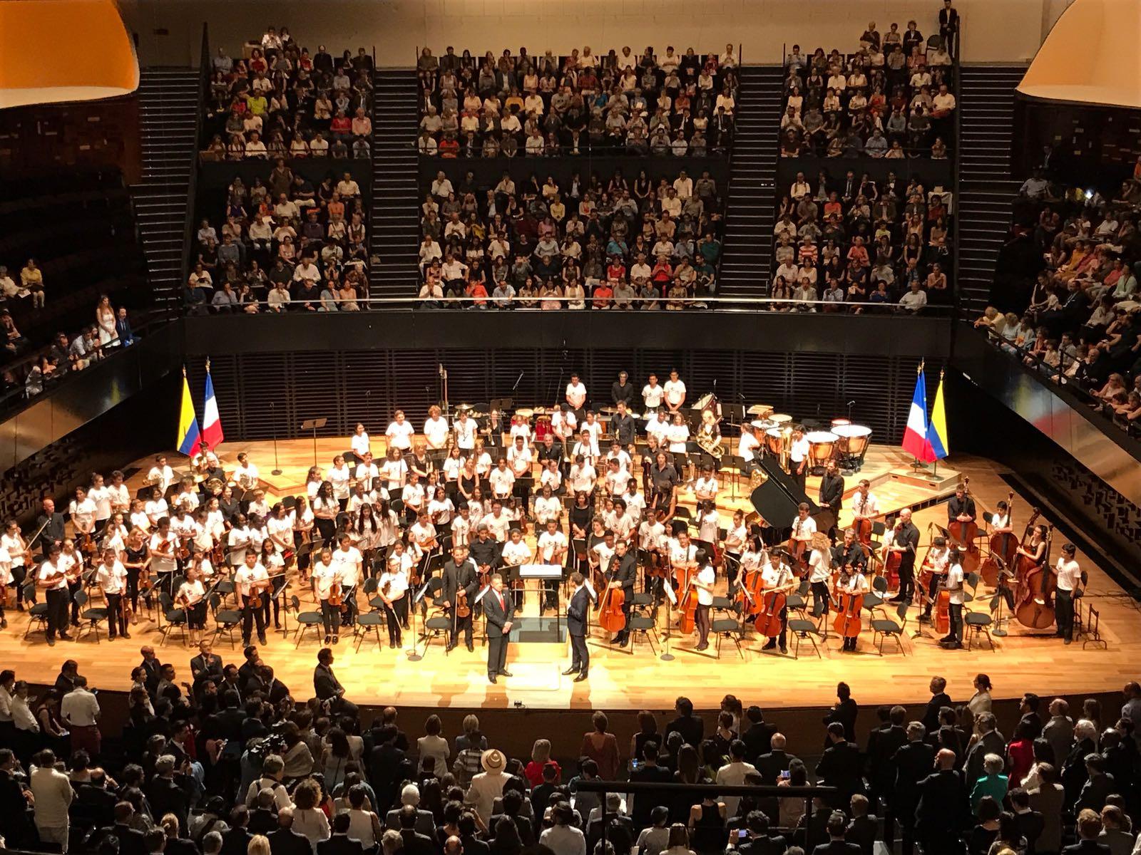 Concierto en la emblem tica philharmonie de par s la for Conciertos paris 2017