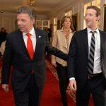 Mark Zuckerberg y Presidente Santos5