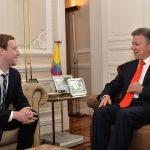 Mark Zuckerberg y Presidente Santos8