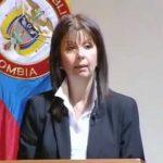 presidenta encargada de la Corte Constitucional, María Victoria Calle Correa