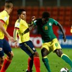 Colombia empato con Senegal