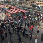 Disturbios en Transmilenio2