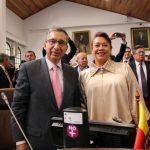 Concejales Jairo Cardozo Salazar  Gloria Estella Dìaz