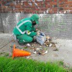 Rutas de aseo para mantener limpia a Bogotá