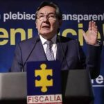 Fiscal en Rueda de Prensa