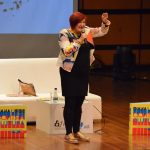 Diana Uribe, presentó su más reciente libro, Contracultura