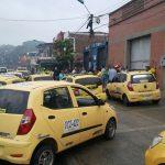 Taxistas en Paro 01