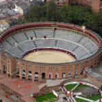 La plaza de toros La Santamaría