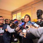 Que Fecode muestre voluntad para levantar el paro ministra Yaneth Giha