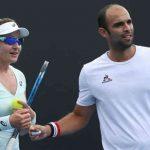 El tenista colombiano Juan Sebastián Cabal y la estadounidense Abigail Spears