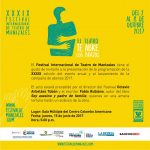 XXXIX versión del Festival Internacional de Teatro de Manizales