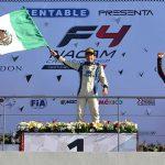 cierre de temporada de Santiago Lozano en el FIA F4 Nacam Championship