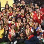 Santa Fe Femeninas campeonas 2017