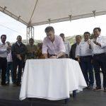 El Presidente Santos asistió a la firma del contrato para la construcción de la vía Cúcuta – Pamplona,