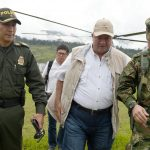 Ministro de Defensa Luis Carlos Villegas se reunió con Dignidad por Mocoa