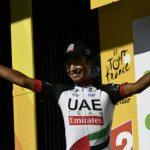 Darwin Atapuma finalizó segundo en la etapa 18 del Tour
