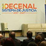 Con el Plan Decenal de Justicia pasara de la declaración a la acción
