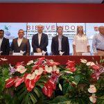 El Presidente Juan Manuel Santos, acompañado por el Ministro de Justicia, Enrique Gil y las autoridades de Valle del Cauca, asiste a la instalación del VI Congreso Nacional de Notariado Colombiano.