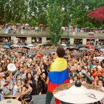 Más de 1.000 personas bailaron vallenato en París