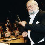 Director y compositor Krzyzstof Penderecki