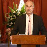 Ministro de Justicia y del Derecho, Enrique Gil Botero en rueda de prensa120917
