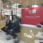 En la foto de izquierda a derecha: Ricardo Jaramillo, gerente de Agrofuturo y Alejandro Buvinic, director de ProChile