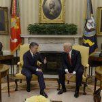 Presidentes de Colombia y Estados Unidos, Juan Manuel Santos y Donald J. Trump