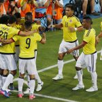 Colombia Celra Gol sobre Camerum