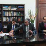 Ministro radica Proyecto Ley de Regimen Sancionatorio
