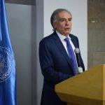 Representante Especial del Secretario General en el país, Jean Arnault.