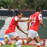 Santa Fe Femenino goleó 9-2 a Deportivo Ita 2017-10-12