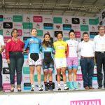 Podium Vuelta Femenina
