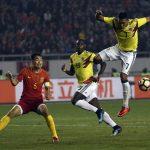 Colombia goleo 4-0 a China