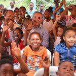Canciller y Vicepresidente inauguraron Mi Casa Lúdica en Tumaco