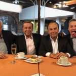 "Juan Carlos Sarnari (Ex futbolista), Esteban Jaramillo (Periodista Deportivo), Hernán Peláez (Periodista Deportivo), Pedro González ""Don Jediondo"" (Humorista)"