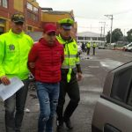 José Edilberto Parada Barbosa fue detenido en Bogotá. Foto Policia