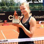 Anna Karolina Schmiedlova se coronó campeona del Claro Colsanitas WTA