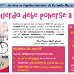jornadas marcación gratis bicicletas