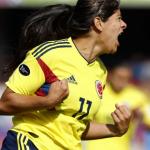 Con 9 goles, Catalina Usme culminó como goleadora de la Copa América Chile 2018