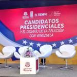 Candidatos exponen sus propuestas frente a la crisis que afecta a Venezuela2018-04-26 01.25.59