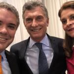 Duque, Presidente de Argentina y Martha Lucia Ramirez