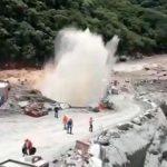 filtración de agua en túnel de Hidroituango.