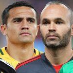 Iniesta, Márquez, Mascherano y Cahill se alistan para su último Mundial