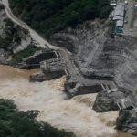 avalancha en Hidroituango disminuye a riesgo de creciente