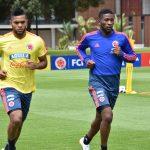 entrenamiento de la Selección Colombia en la Sede Deportiva de la Federación Colombiana de Fútbol. (2)