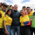 Colombia jugó ante Aficionados y Prensa